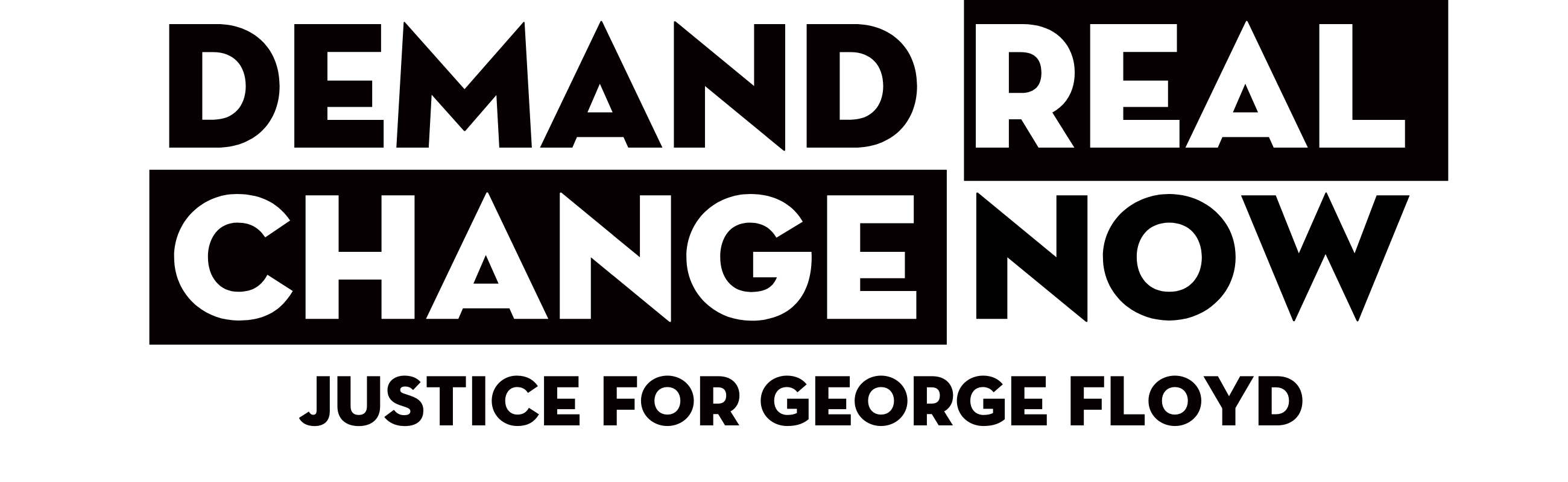 Demand Real Change 1
